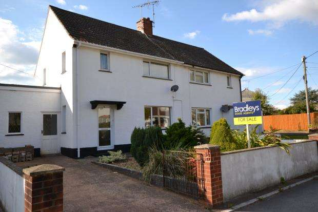 3 Bedrooms Semi Detached House for sale in Meadow Way, Colaton Raleigh, Sidmouth, Devon