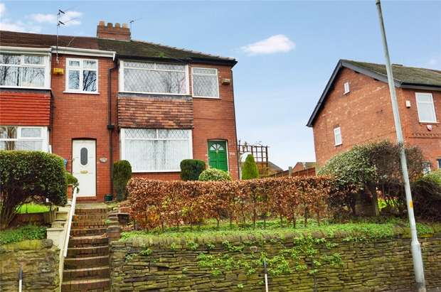 3 Bedrooms Semi Detached House for sale in Hempshaw Lane, Offerton, Stockport, Cheshire