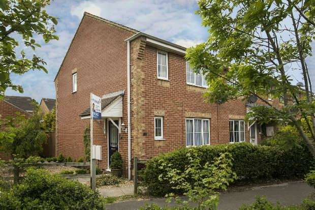2 Bedrooms End Of Terrace House for sale in Chesterment Way, Lower Earley, Reading