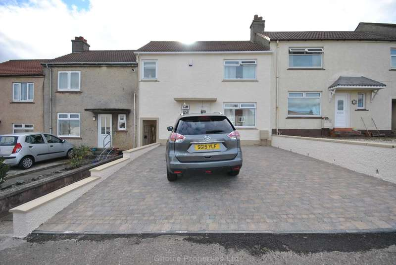 3 Bedrooms Terraced House for sale in Leadhills Road, Kilmarnock, KA1 3UQ
