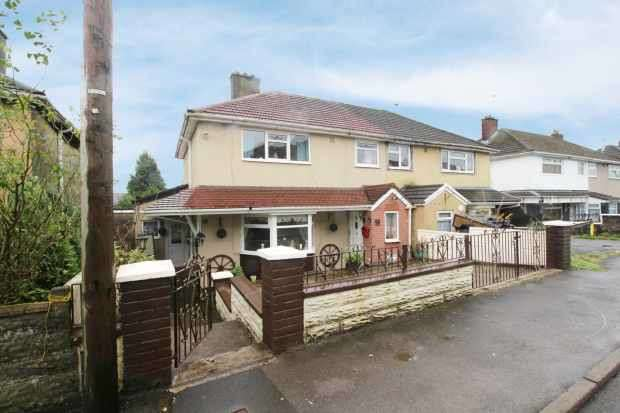 3 Bedrooms Semi Detached House for sale in Manley Close, Porth, Mid Glamorgan, CF39 8NS