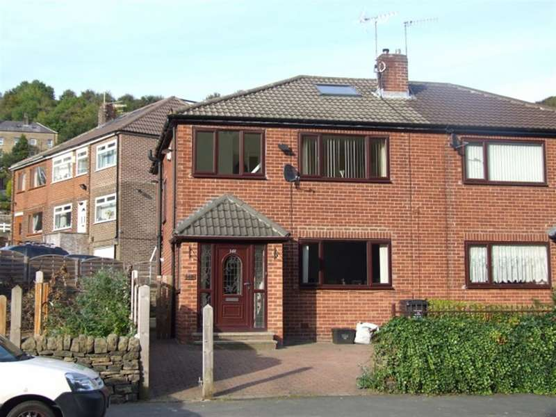 3 Bedrooms Semi Detached House for sale in Hebble Lane, Wheatley, Halifax, HX3 5JL