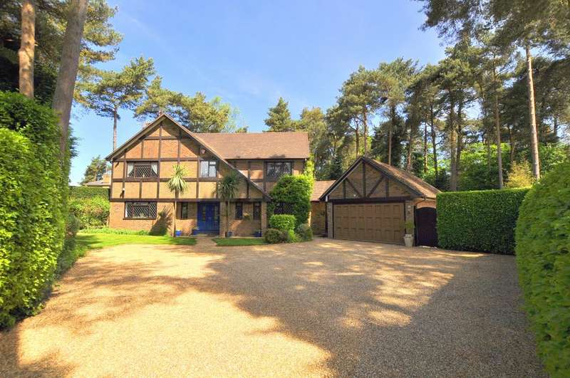 5 Bedrooms Detached House for sale in Davids Lane, Ringwood, BH24 2AW