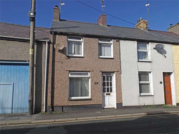 2 Bedrooms Terraced House for sale in New Row, Pwllheli, Gwynedd