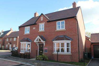 4 Bedrooms Detached House for sale in Sapper Close, Meon Vale, Stratford-upon-Avon