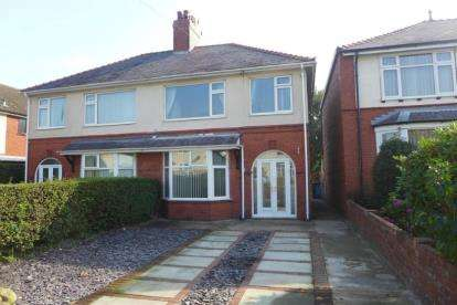 3 Bedrooms Semi Detached House for sale in Fernleigh Villas, Hawarden Road, Caergwrle, Wrexham, LL12