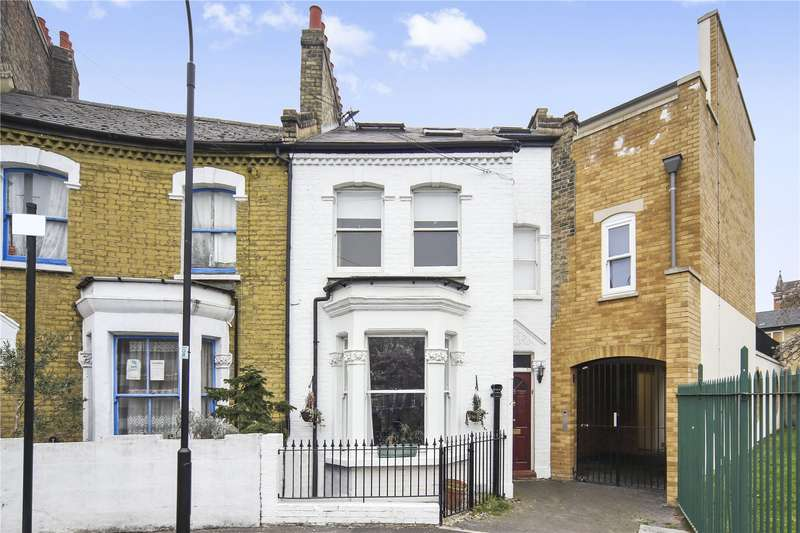 4 Bedrooms Terraced House for sale in Purcell Crescent, London, SW6