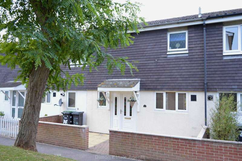 3 Bedrooms Terraced House for sale in Merganser Close, Hardway