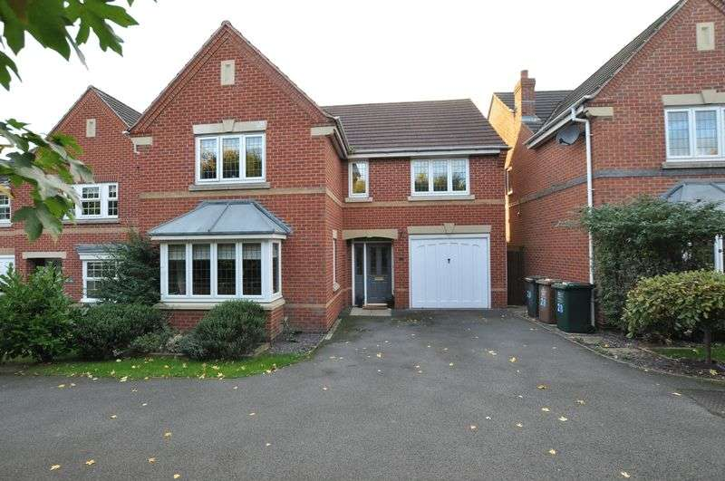4 Bedrooms Detached House for sale in QUEEN VICTORIA DRIVE, SWADLINCOTE