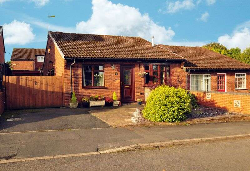 2 Bedrooms Semi Detached Bungalow for sale in Linley View Drive, Bridgnorth