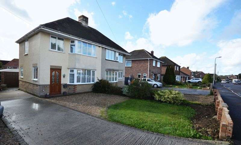 3 Bedrooms Semi Detached House for sale in Eliotts Drive, Yeovil
