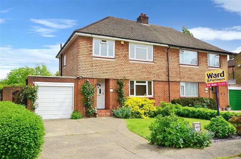 3 Bedrooms Semi Detached House for sale in Delamere Gardens, Waghorn Road, Snodland, Kent