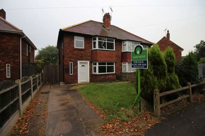 3 Bedrooms Semi Detached House for sale in Lawn Avenue, Woodlands, Doncaster, DN6
