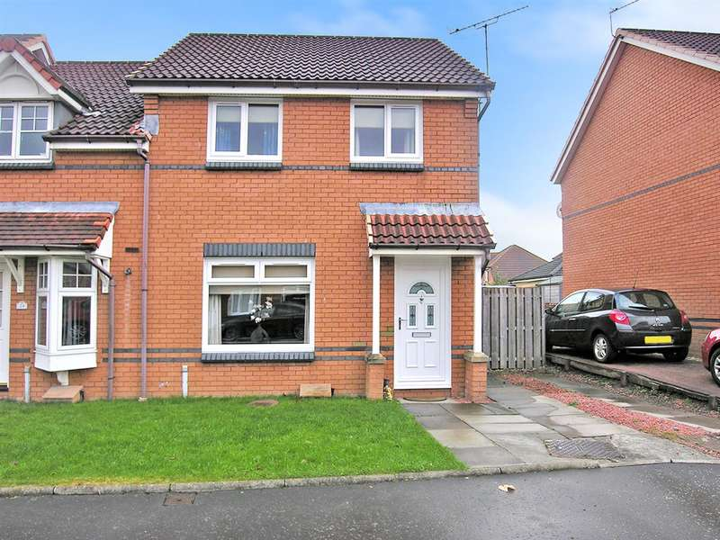 3 Bedrooms Semi Detached House for sale in Caledonian Court, Falkirk