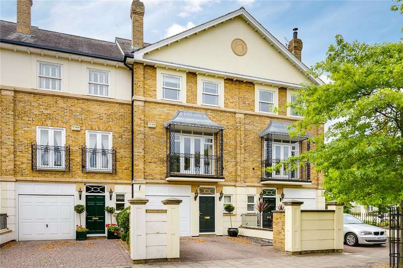 5 Bedrooms Terraced House for sale in Trinity Church Road, London, SW13
