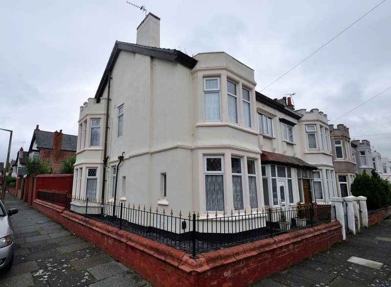 4 Bedrooms Semi Detached House for sale in Tilston Road, Wallasey