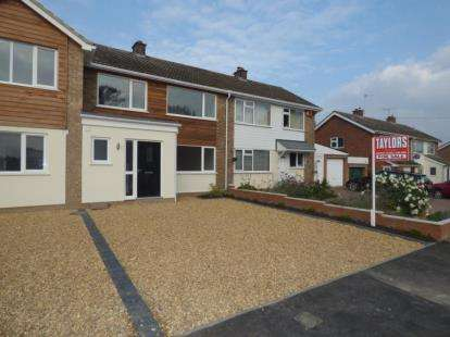3 Bedrooms Terraced House for sale in Gravel Walk, Emberton, Olney, Buckinghamshire