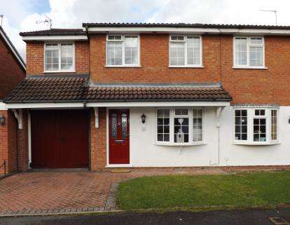 4 Bedrooms Semi Detached House for sale in Ennerdale Drive, Perton, Wolverhampton, Staffordshire