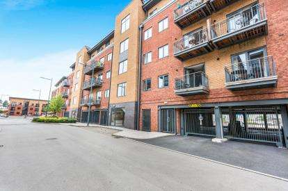 2 Bedrooms Flat for sale in Millwright House, Basin Road, Worcester, Worcestershire