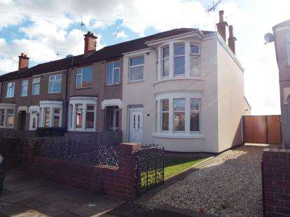 3 Bedrooms End Of Terrace House for sale in Rollason Road, Radford, Coventry