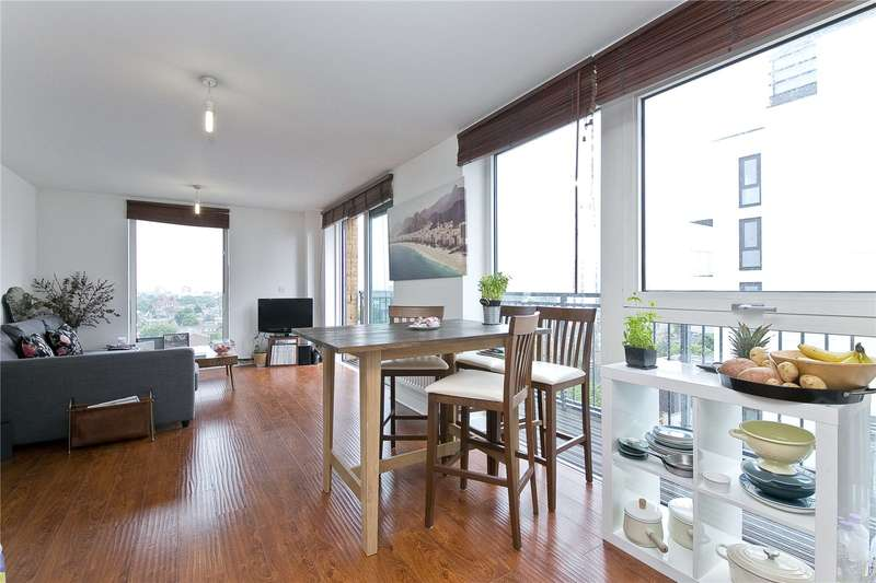1 Bedroom Flat for sale in Labyrinth Tower, Dalston Square, E8