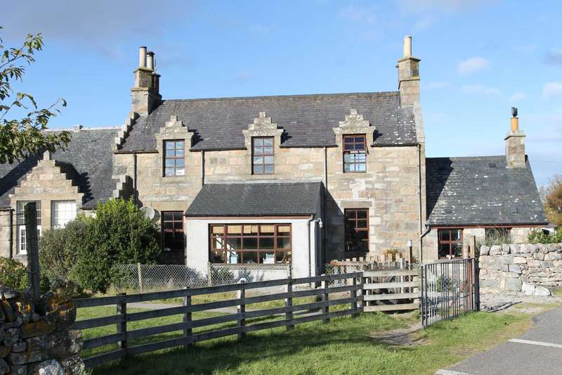 3 Bedrooms Semi Detached House for sale in The School House, Durness, Sutherland