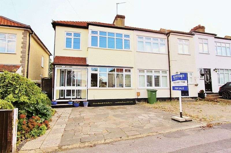 2 Bedrooms Semi Detached House for sale in Gelsthorpe Road, Collie Row, Romford, RM5