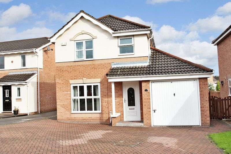 3 Bedrooms Detached House for sale in Midgley Rise, Pontefract