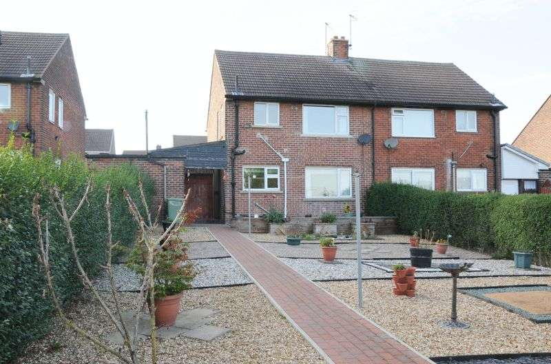 3 Bedrooms Semi Detached House for sale in Curbar Curve, Chesterfield