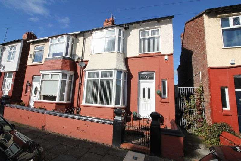 4 Bedrooms Semi Detached House for sale in Parkend Road, Prenton