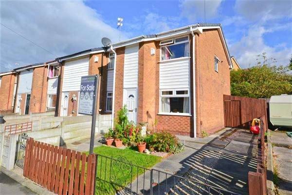 2 Bedrooms End Of Terrace House for sale in Beech Grove, Wigan