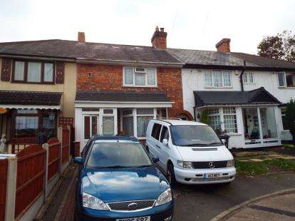 3 Bedrooms Terraced House for sale in Wigmore Grove, Birmingham, West Midlands