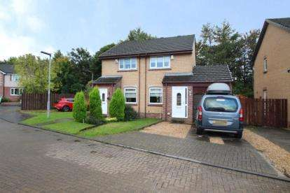 2 Bedrooms Semi Detached House for sale in Rosebank Gardens, Lawthorn, Irvine, North Ayrshire