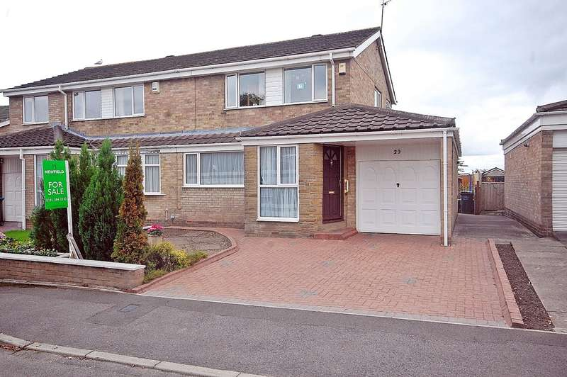 3 Bedrooms Semi Detached House for sale in Barrasford Road, Newton Hall, Durham