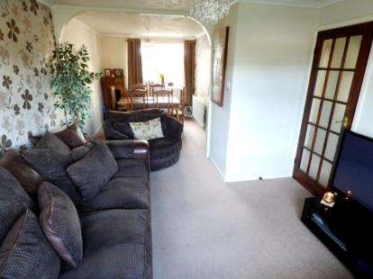 2 Bedrooms Terraced House for sale in Birchfield Avenue, Rode Heath, Stoke-On-Trent, Cheshire