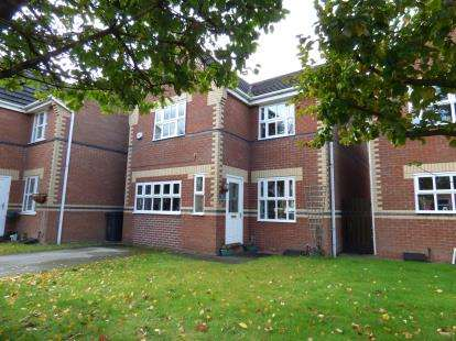 3 Bedrooms Detached House for sale in Byron Close, Ettiley Heath, Sandbach, Cheshire