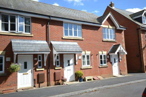 2 Bedrooms Terraced House for sale in Norman Crescent, Budleigh Salterton, Devon