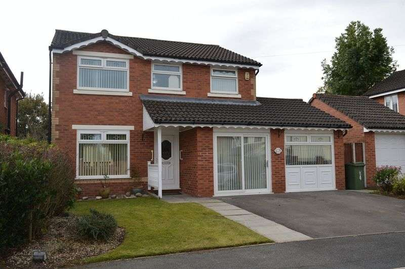 4 Bedrooms Detached House for sale in Ladybarn Avenue, Golborne, WA3 3YA