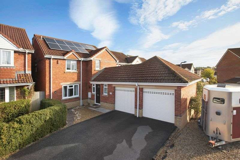 4 Bedrooms Detached House for sale in Burrough Way, Wellington