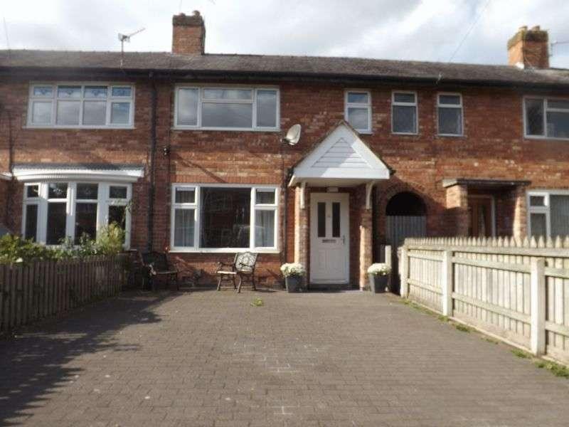 3 Bedrooms Terraced House for sale in Brandwood Avenue, Longford, Warrington