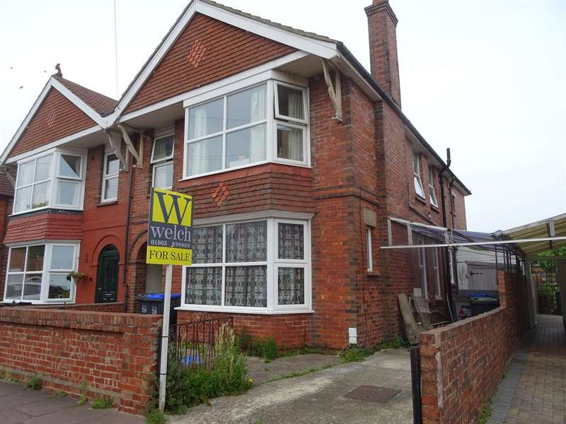 4 Bedrooms Semi Detached House for sale in Chatham Road, Worthing, , BN11 2SP