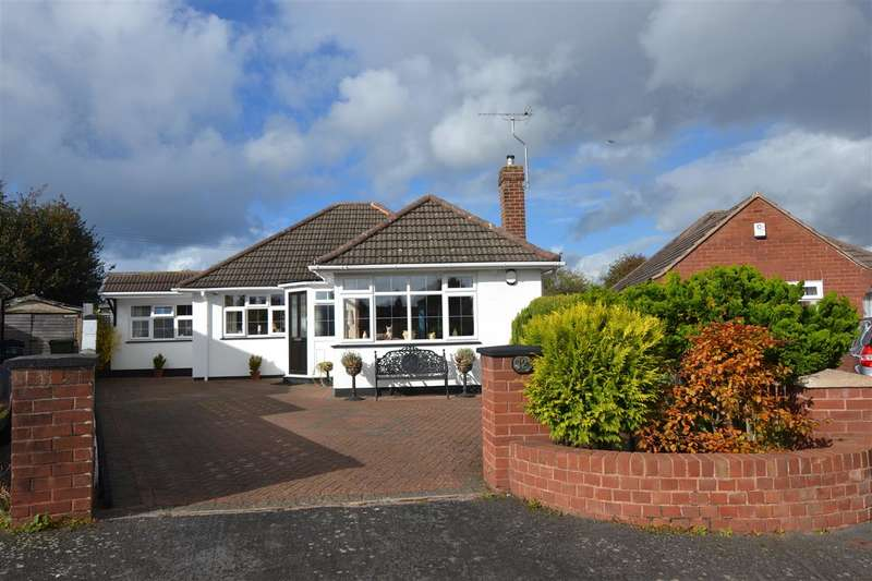2 Bedrooms Detached Bungalow for sale in Sherbrook Close, Brocton, Stafford