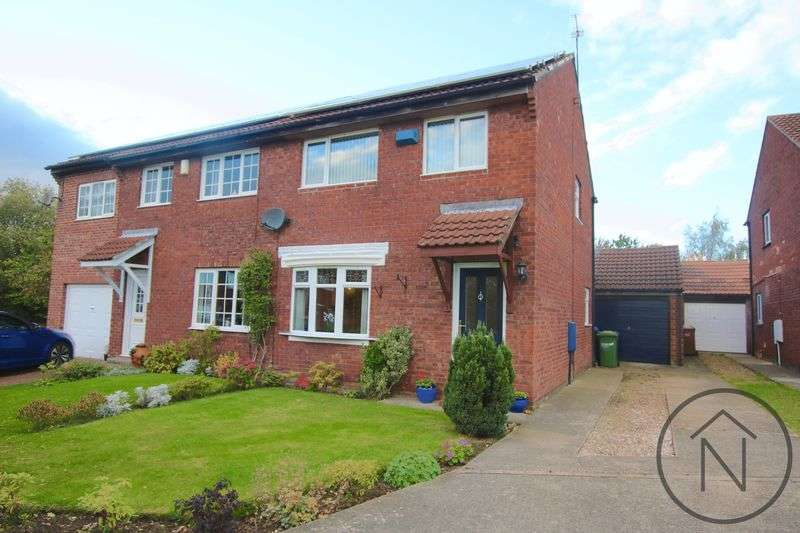3 Bedrooms Semi Detached House for sale in Bluebell Meadow, Newton Aycliffe