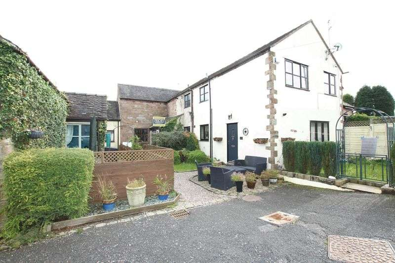 2 Bedrooms Terraced House for sale in Squirrel Hayes Cottages, Knypersley, Biddulph