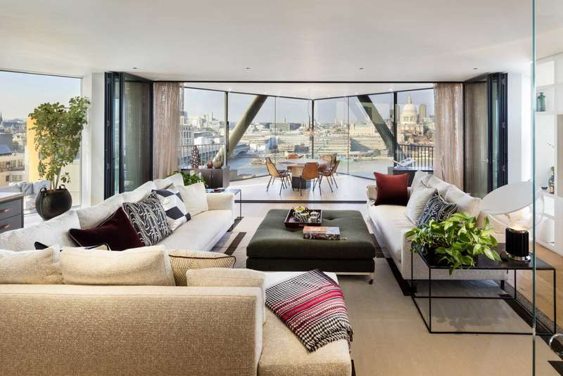 3 Bedrooms Apartment Flat for sale in NEO Bankside, 60 Holland Street, Southwark