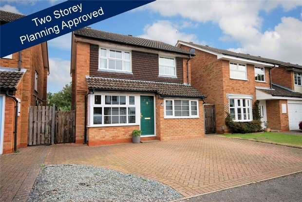 3 Bedrooms Detached House for sale in Patrick Way, Aylesbury, Buckinghamshire