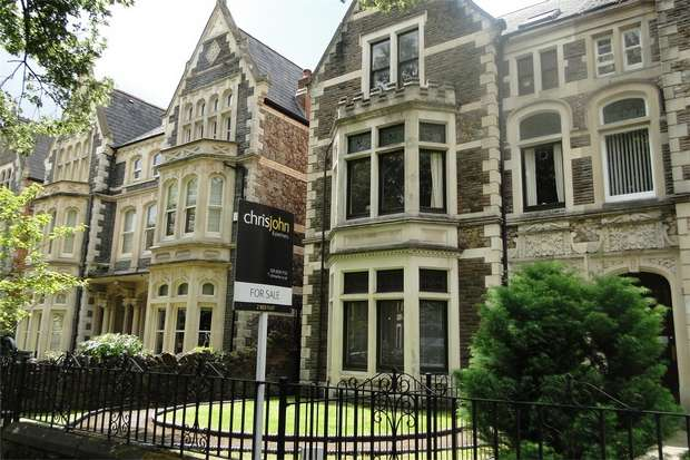 2 Bedrooms Flat for sale in Flat 1, 107, Cathedral Road, Pontcanna, Cardiff