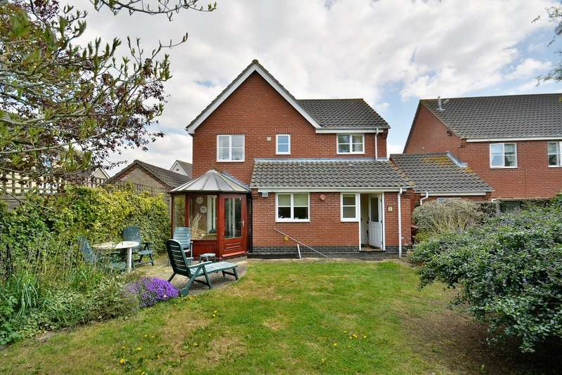 4 Bedrooms Detached House for sale in Cranes Meadow, Harleston