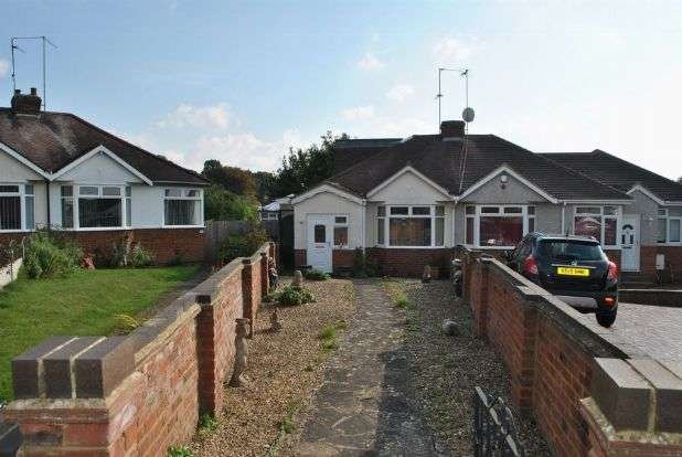 2 Bedrooms Semi Detached Bungalow for sale in Sandhills Close, Whitehills, Northampton NN2 8EB