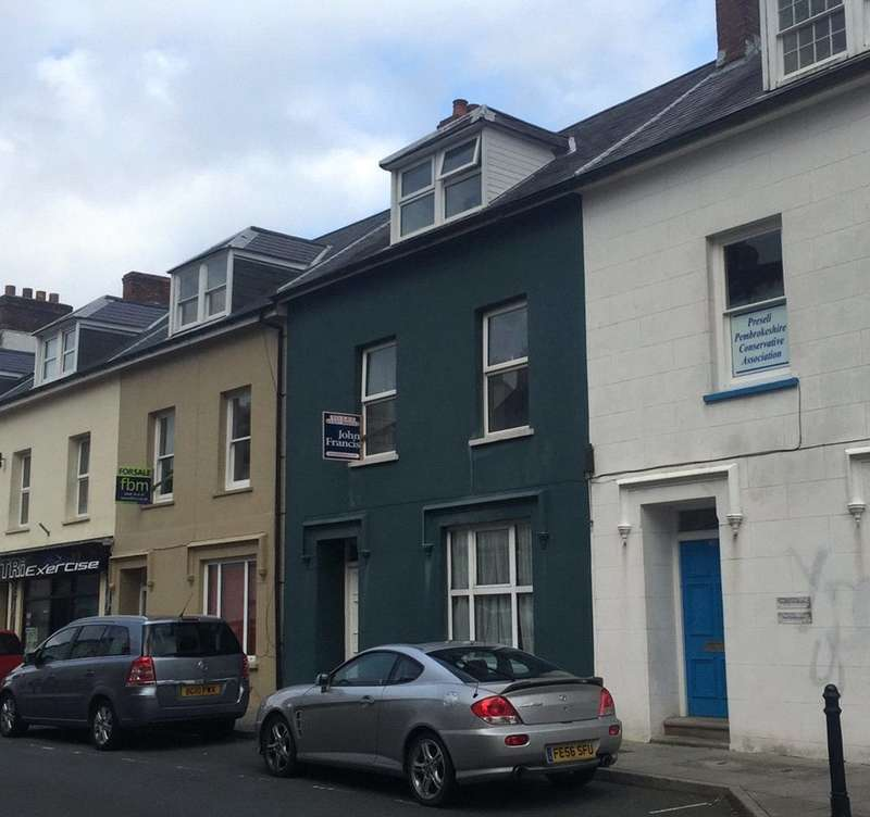 5 Bedrooms Terraced House for sale in Upper Market Street, Haverfordwest